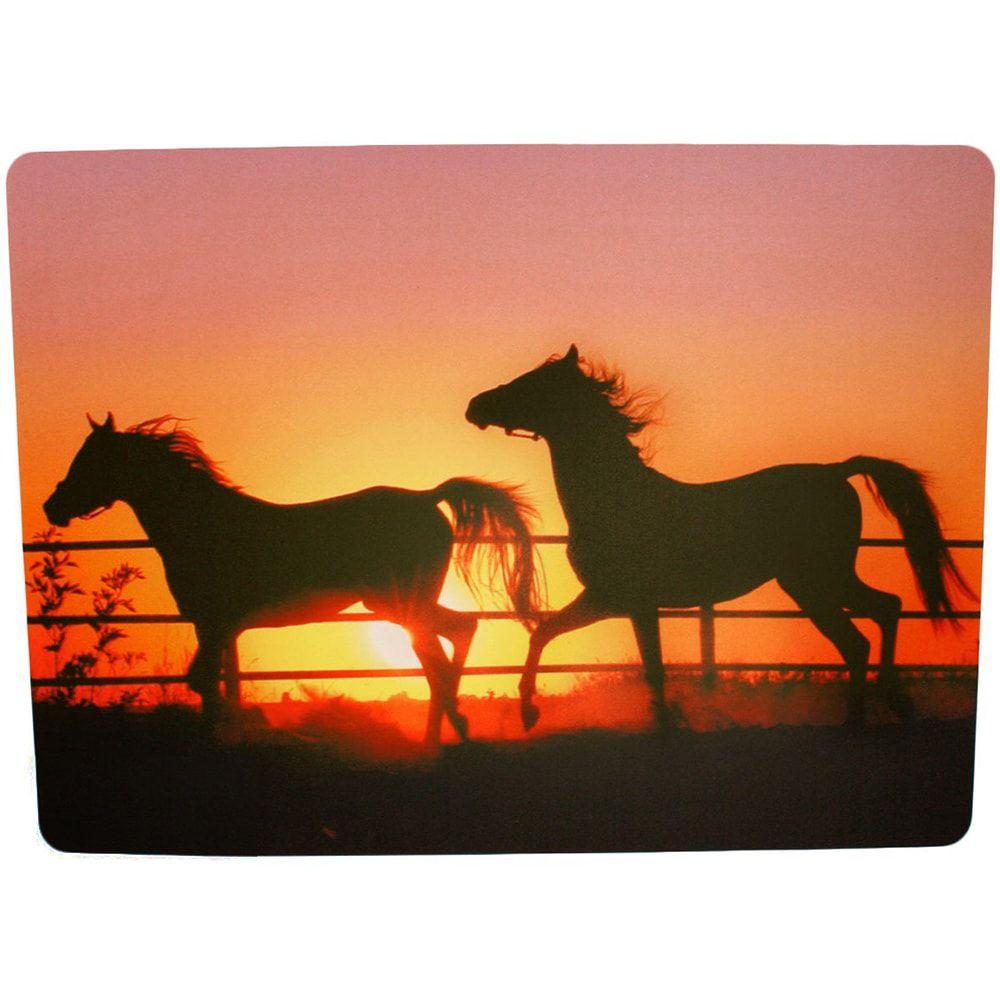 Jogo Americano Cavalos Ao Por Do Sol Individual