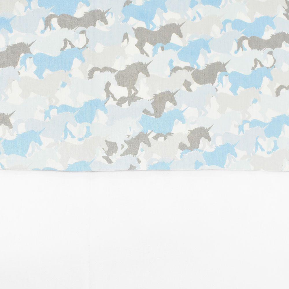 Jogo de Lençol Country Solteiro Blue Horse