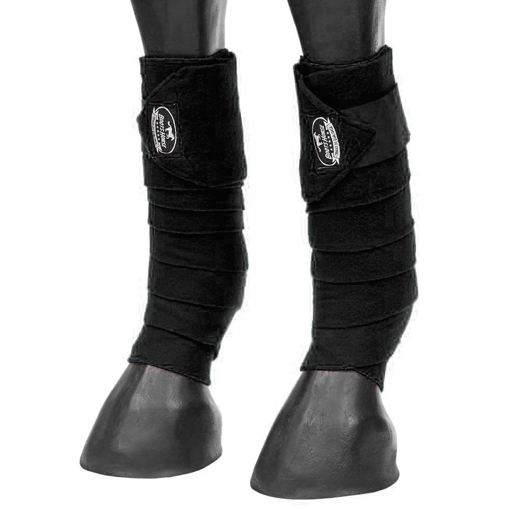 Liga de Descanso Boots Horse Preta