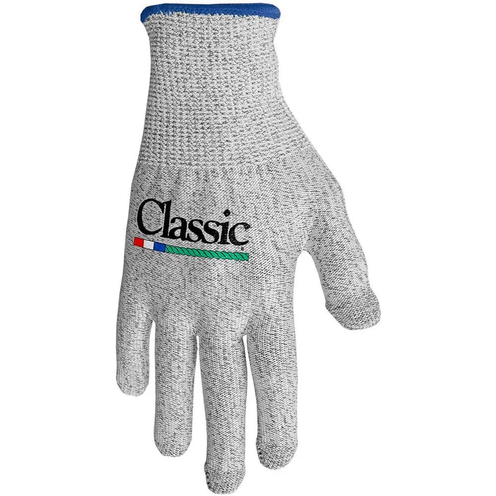Luva Para Laço Classic Touch Cinza Punho Azul Marinho