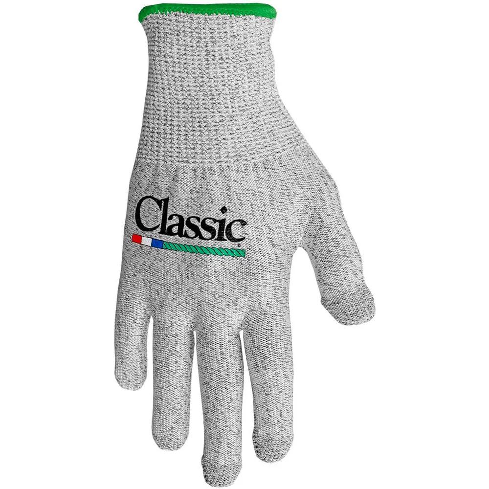 Luva Para Laço Classic Touch Cinza Punho Verde