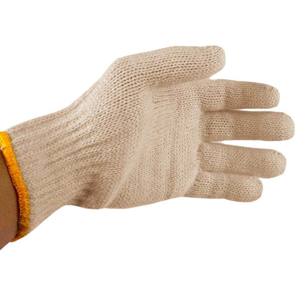 Luva Individual Algodão Para Laço Amarela