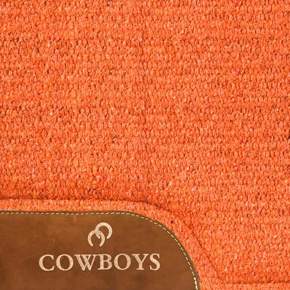 Manta de Lã Cowboys Laranja