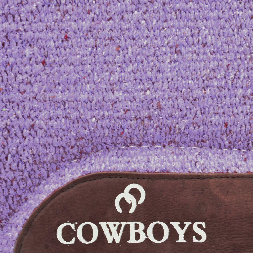 Manta Cowboys Modelo Americano Lilás