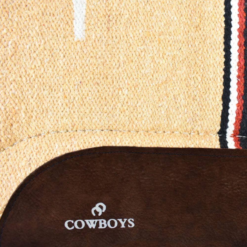 Manta para Cavalo Cowboys Bege e Preto