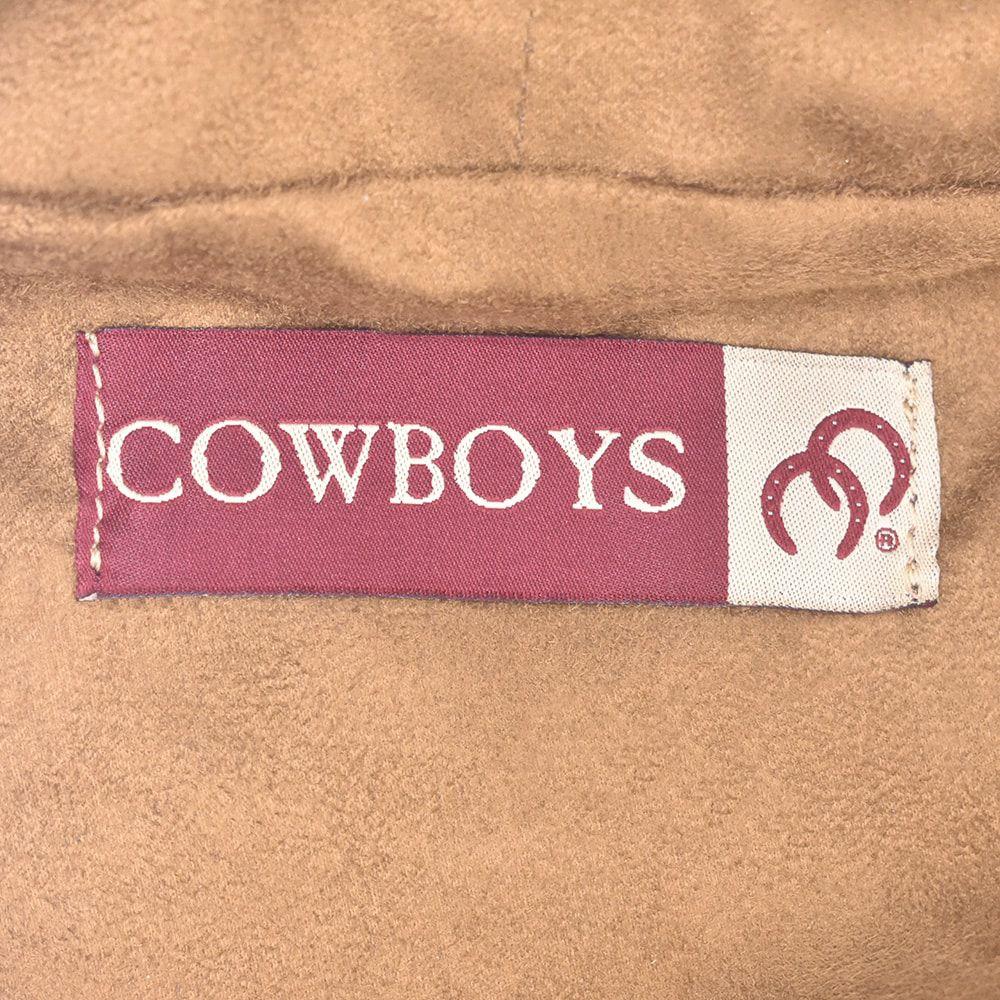 Mochila Cowboys Aplique de Cavalos com Detalhes em Couro