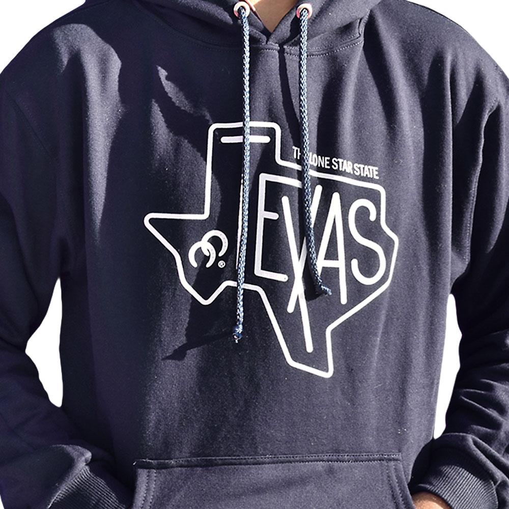 Moletom Cowboys Azul Marinho com Estampa Texas