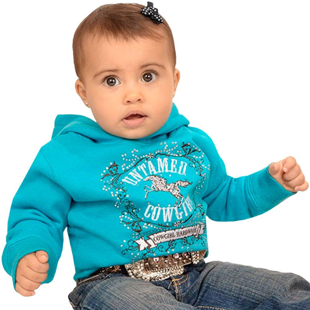 Moletom Feminino Infantil Importado Azul Cavalo Strass
