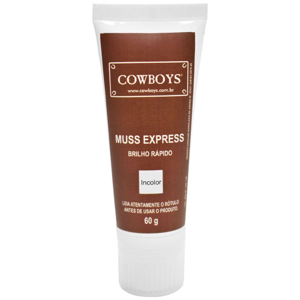 Polidor de Cera Natural Para Calçados Cowboys Muss Express