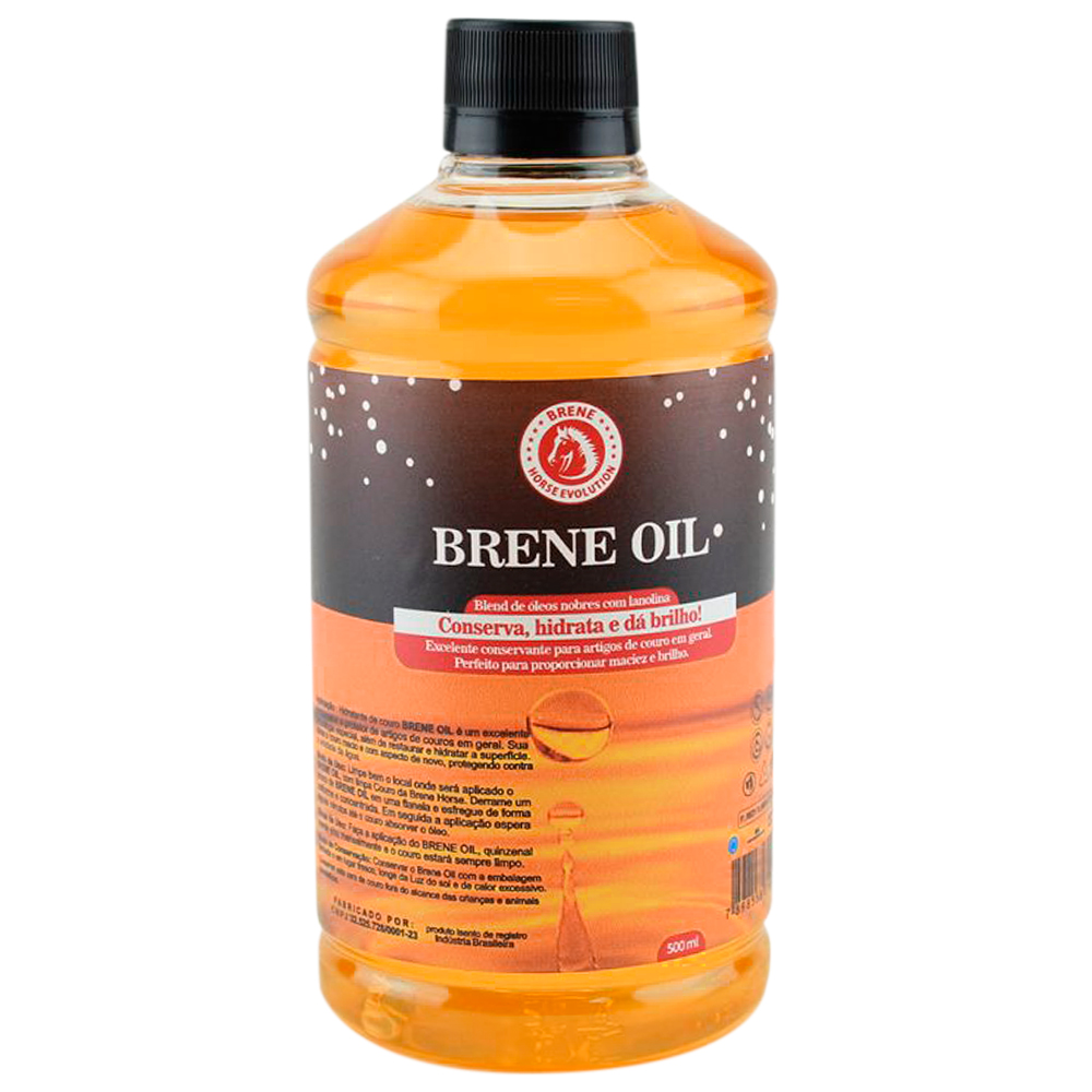 Óleo Brene Horse Hidratante para Couro Brene Oil 500 ml