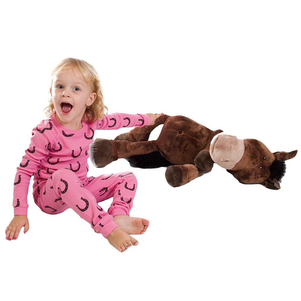 Pijama Ferraduras Rosa Baby