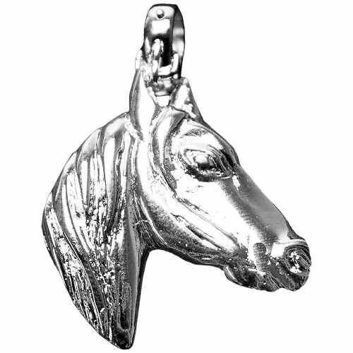 Pingente Feminino Cowboys para Colar Horse Face
