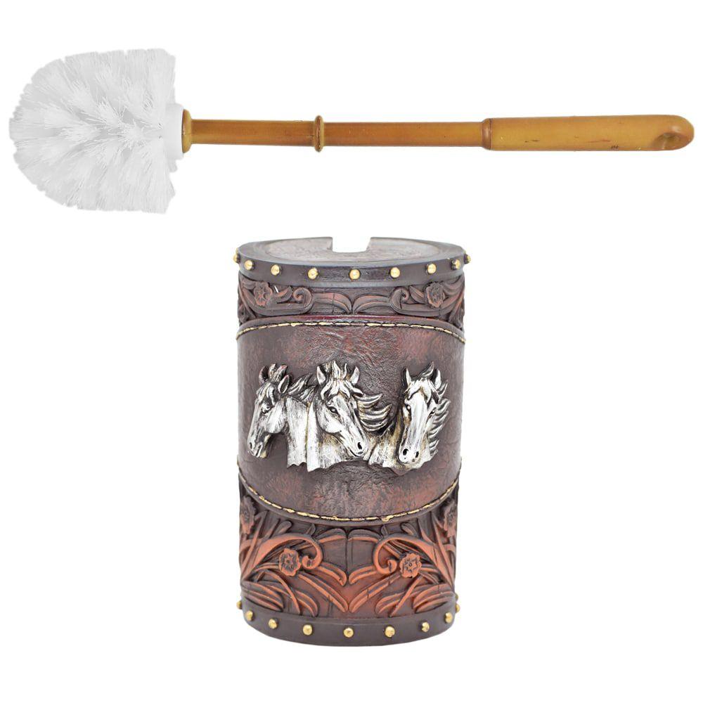 Porta Escova Sanitária 3 Cavalos