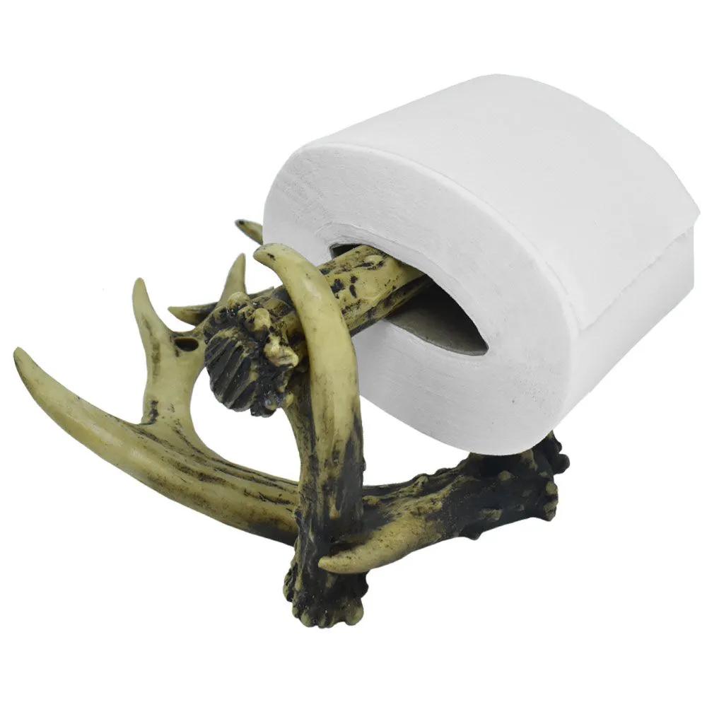 Porta Papel Higiênico em Formato de Chifre
