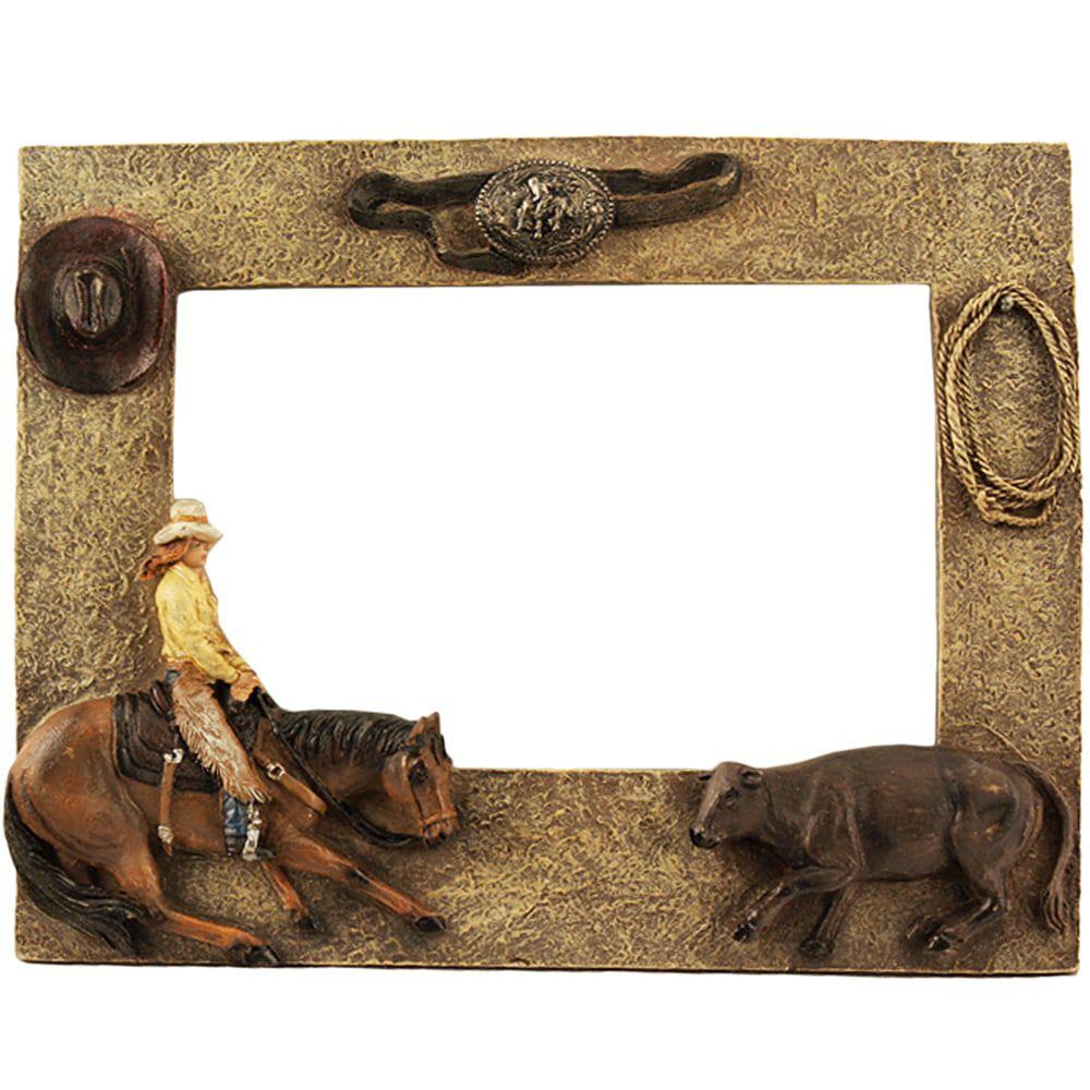 Porta Retrato Country Rústico