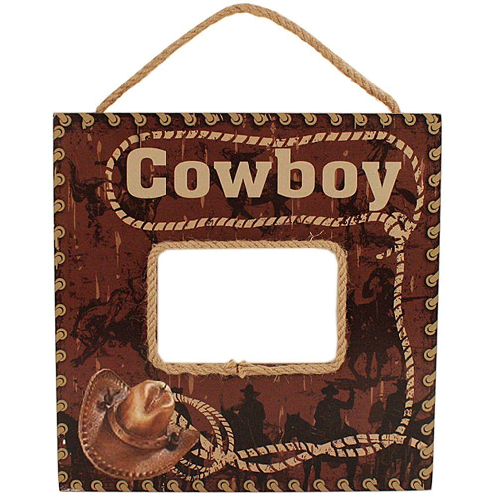 Porta Retrato Importado Cowboy Tie