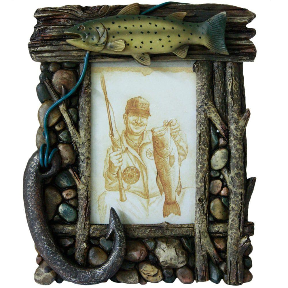 Porta Retrato Registro de Pescador