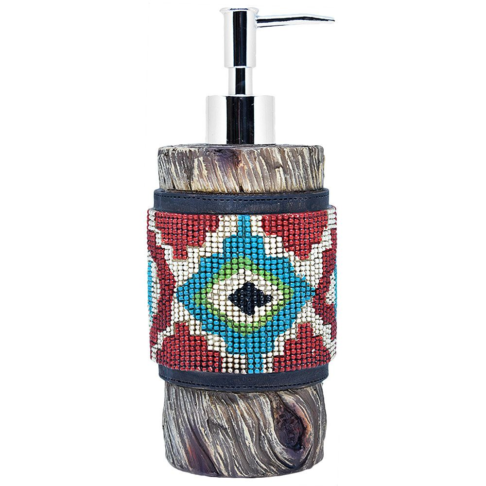 Porta Sabonete Importado Líquido Navajo
