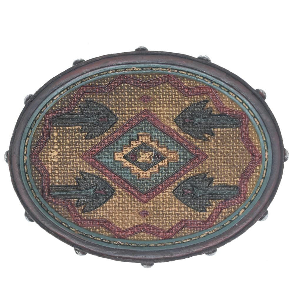 Porta Sabonete Importado Tribal