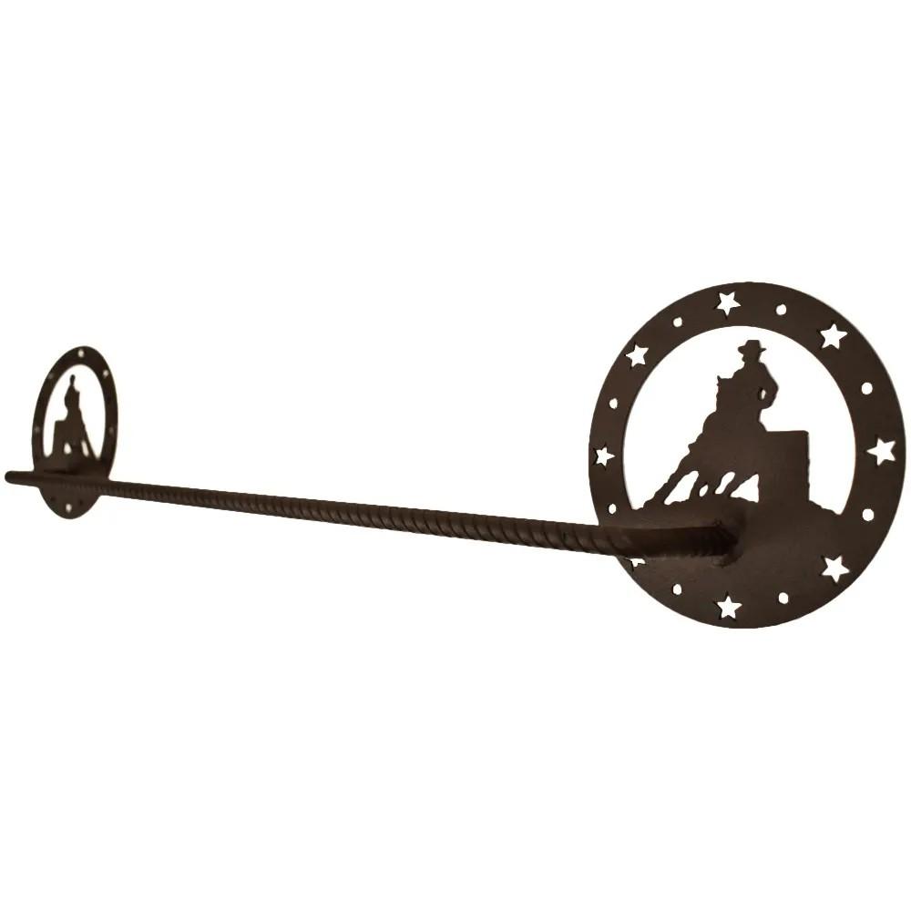 Porta Toalha De Metal Importado 3 Tambores Circular