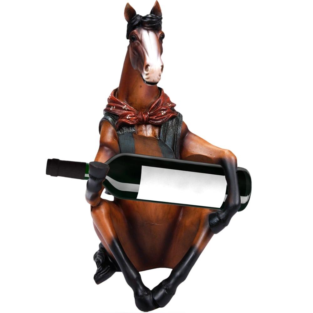 Porta Garrafa Cavalo Country Sentado