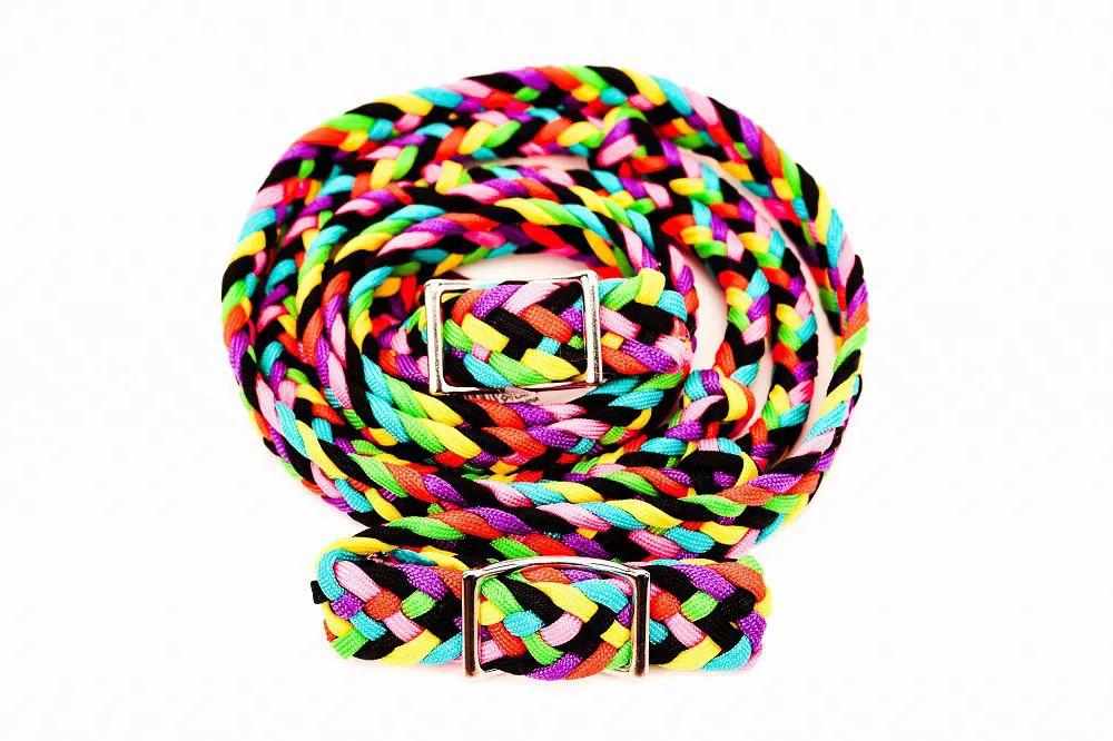 Rédea de Nylon Partrade Colorida