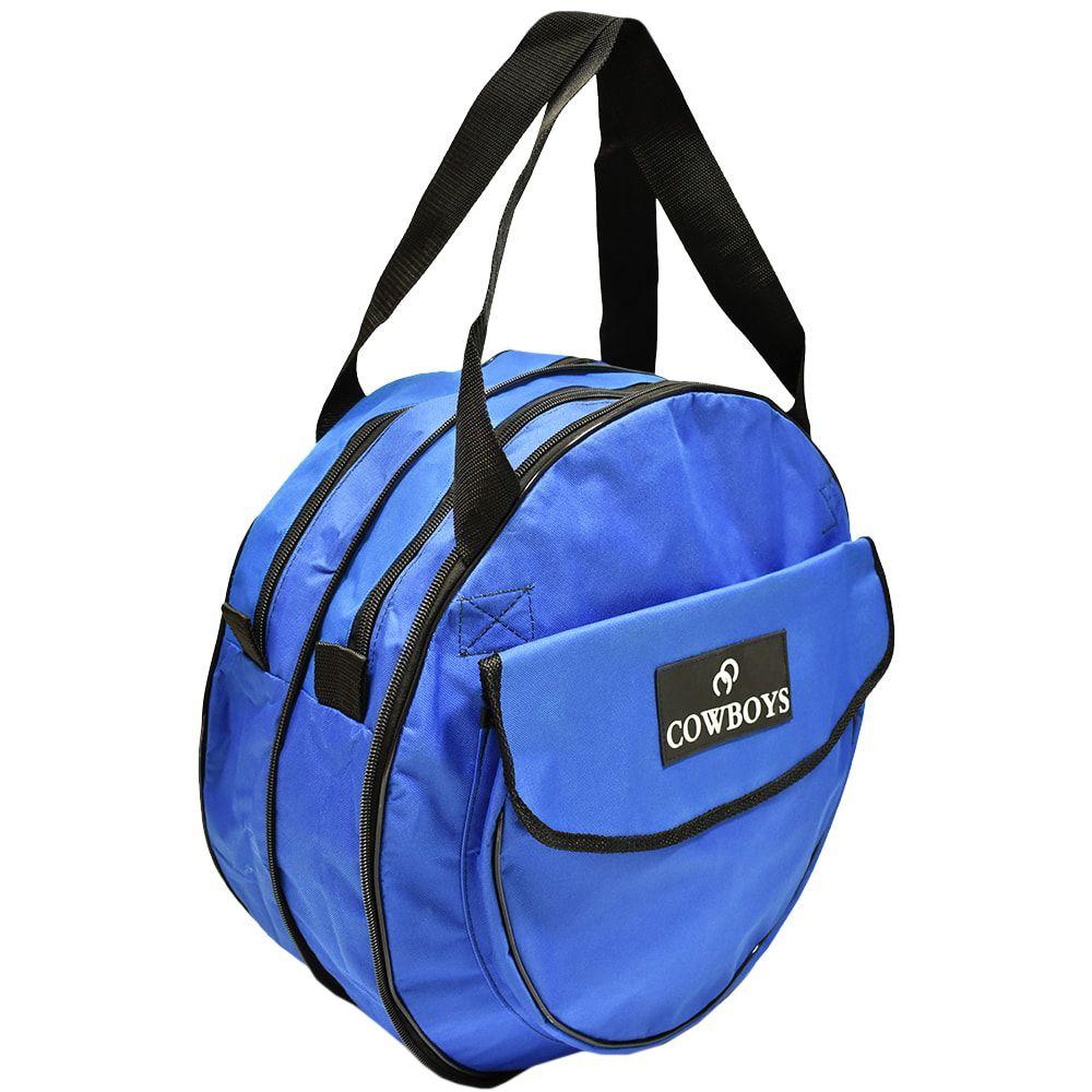 bajo precio 0273b 2e7bc Sacola para Laço Cowboys Azul com Bolso Regulável