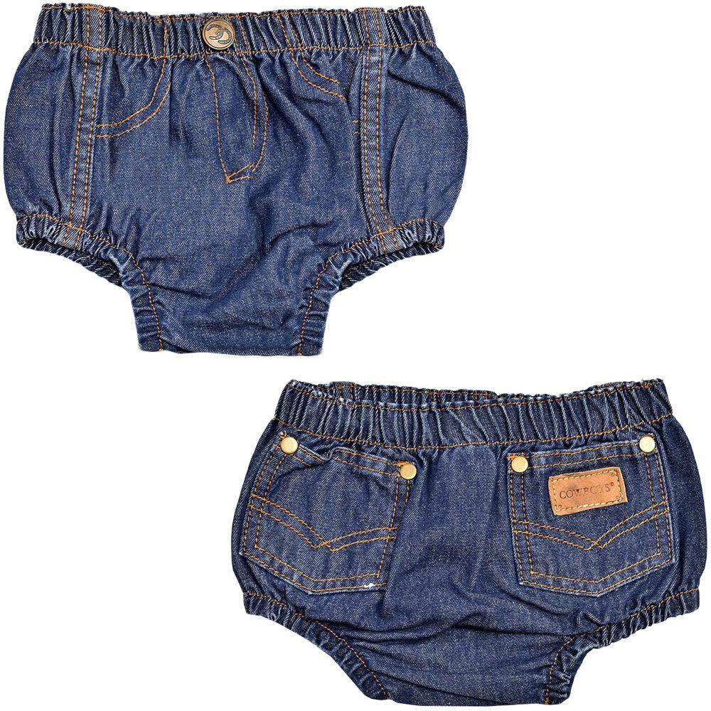 Short Jeans Infantil Cowboys