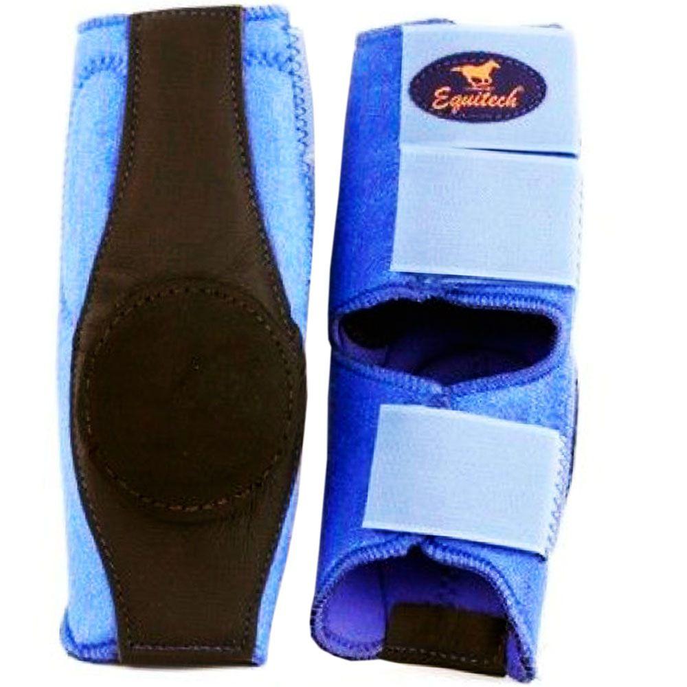 Skid Boot em Neoprene Equitech Azul