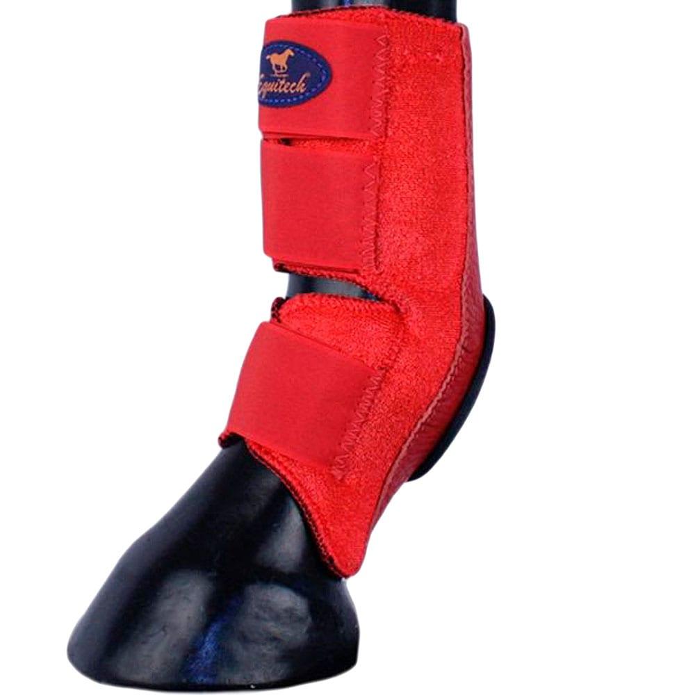 Skid Boot em Neoprene Equitech Vermelho