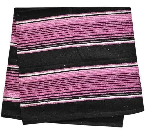 Sobremanta de Lã Weaver Rosa e Preto