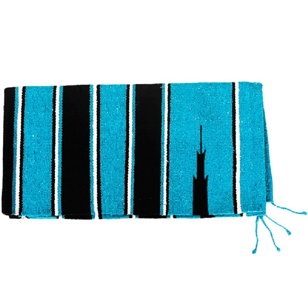 Sobremanta em Lã Mustang Azul Claro