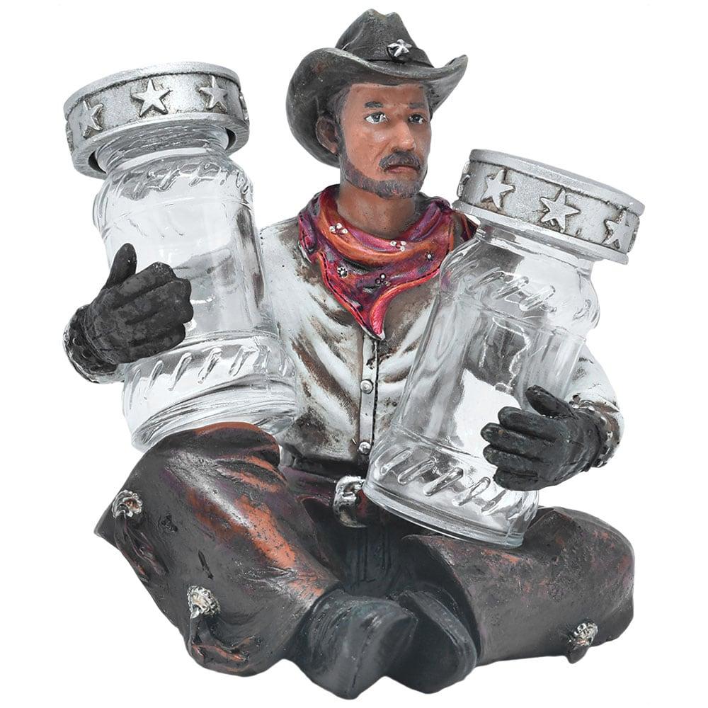 Suporte Importado para Saleiro e Pimenteira Cowboy