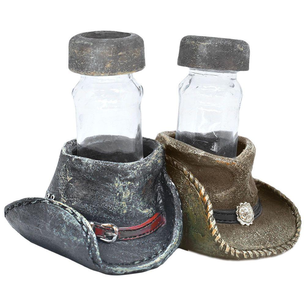 Suporte Importado para Saleiro e Pimenteira Chapéus