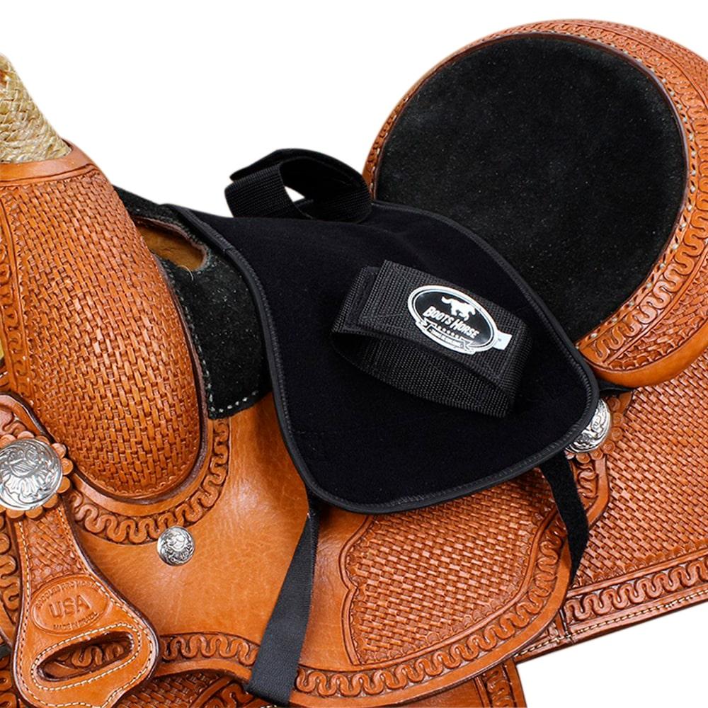 Suporte para Sela Infantil em Neoprene Boots Horse Preto