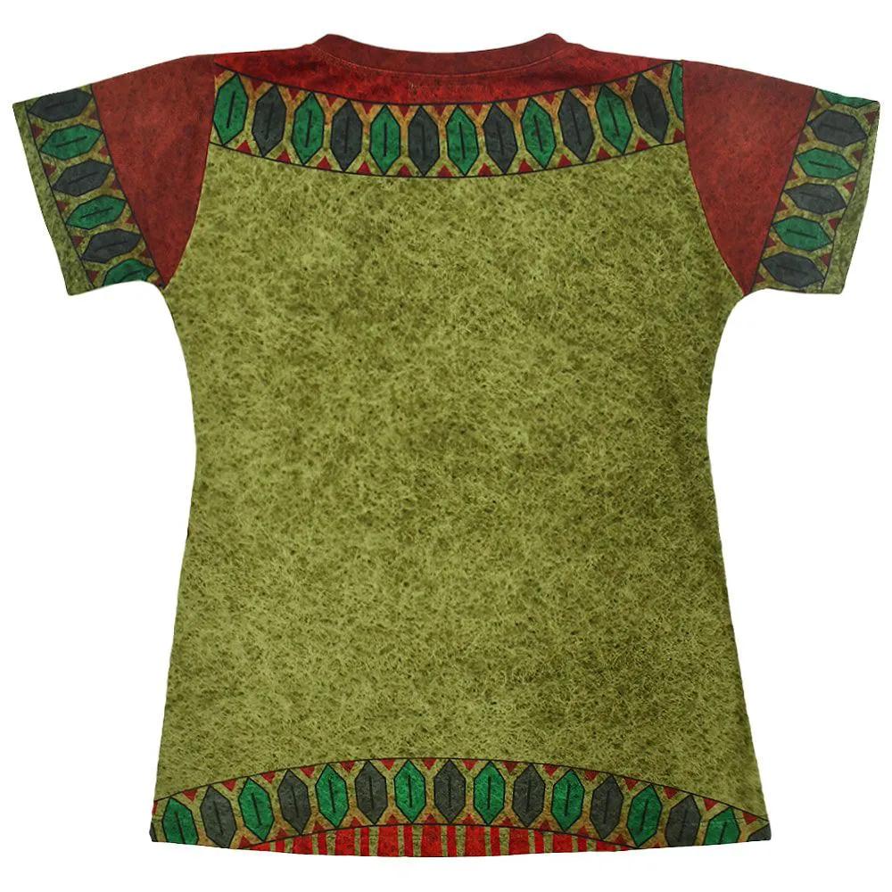 Blusinha Feminina Cowboys Verde Cocar Indígena