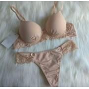 Conjunto Lingerie Nude