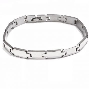 Bracelete Masculino De Aço