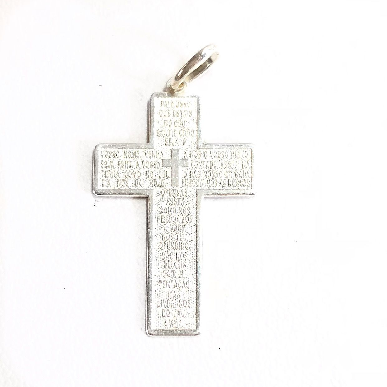 Pingente Jesus Cruz Prata 925