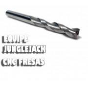 Fresa Topo 2 Cortes 3,175mm X 25mm Metal Duro Router Cnc