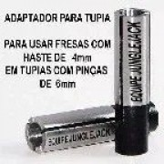 KIT 2 ADAPTADORES PARA TUPIA - 6mm p/ 1/8 e 6mm p/4mm