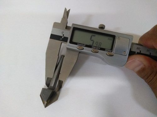 Fresa Bit Cnc Router Tupia Madeira V-carv 19,05mm 90 Graus