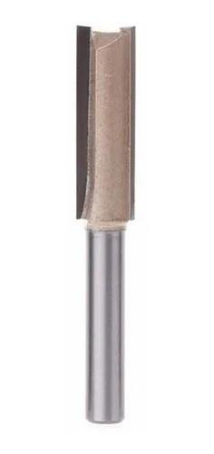 Fresa Reta Para Madeira Tupia Haste 6mm X 5/16 (7,93mm)