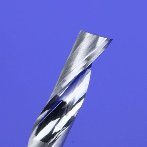 Fresa Topo 1 Corte 3,175mm x 17mm Metal Duro Acrilico Mdf Cnc