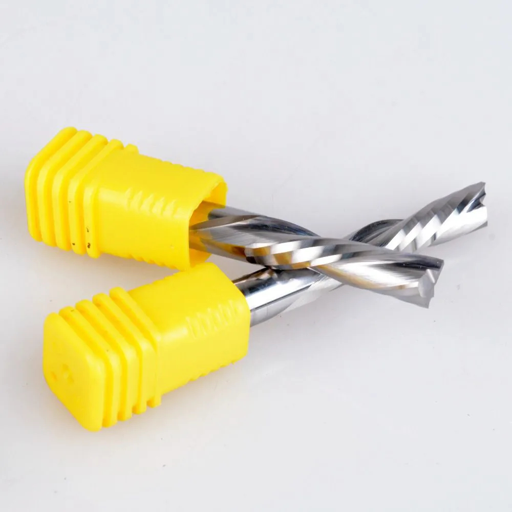Fresa Topo 1 Corte Downcut 6mm X 22mm Acm Mdf Revestido ROUTER CNC