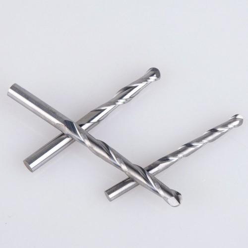 Fresa Topo Ballnose 4 Mm X 22mm Redonda Esférica Metal Duro
