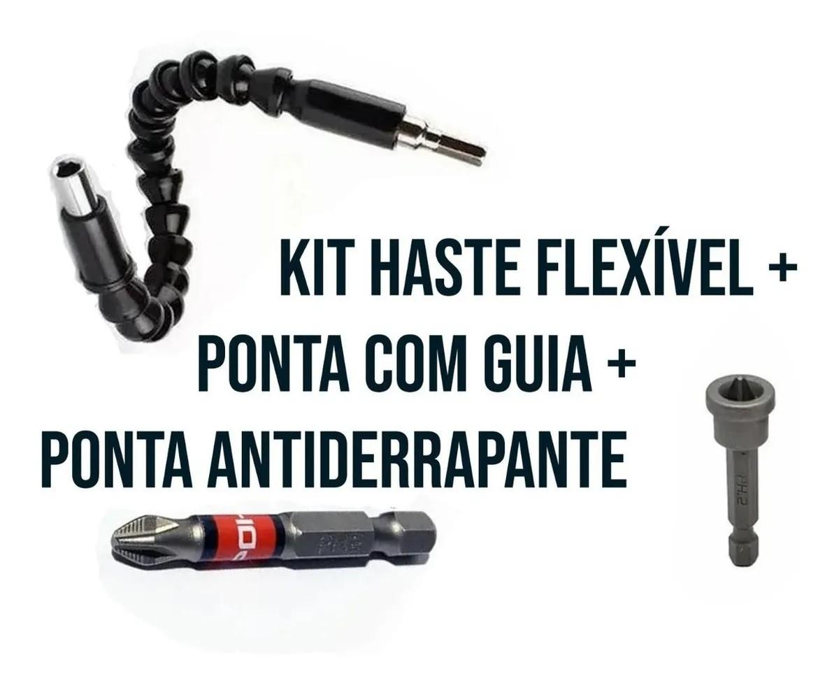 kit Eixo Flexível Com pontas Ph2 com Limitador E Ph1