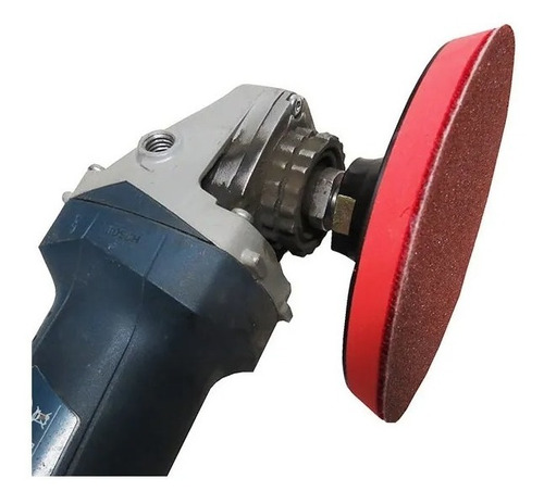 Suporte De Borracha Com Velcro 125 Mm Para Furadeira