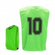 Colete de Futebol Light Numerado Kit 7 Pcs