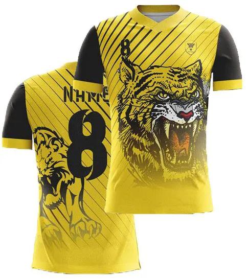 Camisa de Futebol Prime - Sublimação Total - Kit 22 Pcs
